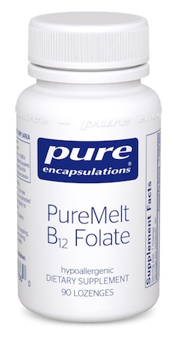 Image of PureMelt B12 Folate Sublingual 1000/667 mcg
