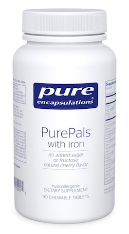 Image of PurePals with iron Chewable Cherry