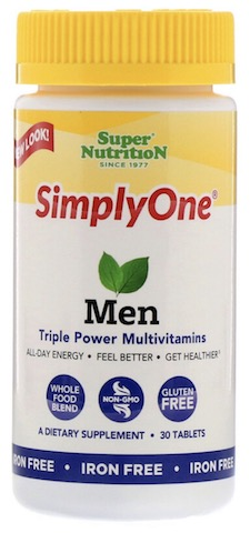 Image of SimplyOne Men Iron Free