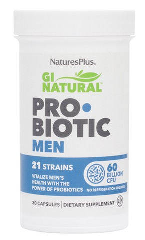 Image of GI Natural ProBiotic Men 60 Billion 21 Strains