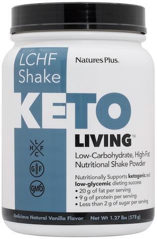 Image of KetoLiving LCHF Shake Vanilla