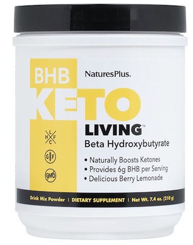 Image of KetoLiving BHB Drink Mix Powder Berry Lemonade