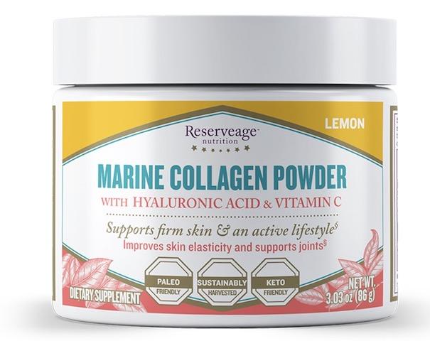 Image of Marine Collagen Powder Lemon