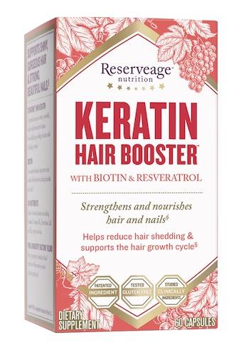 Image of Keratin Hair Booster with Biotin & Resveratrol