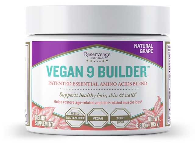 Image of Vegan 9 Builder Powder Grape