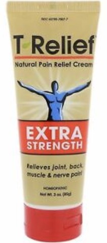 Image of T-Relief Extra Strength Pain Relief Cream