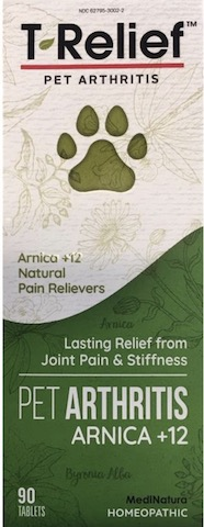Image of T-Relief Pet Arthritis Pain Tablet