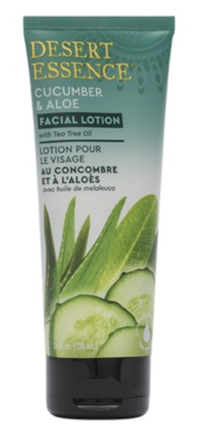 Image of Facial Lotion Cucumber & Aloe with Tea Tree Oil