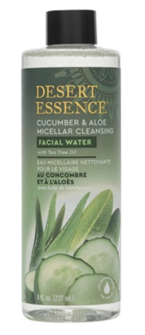 Image of Facial Water Cucumber & Aloe Micellar Cleansing with Tea Tree Oil
