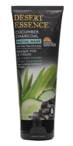 Image of Facial Mask Cucumber Charcoal with Tea Tree Oil & Aloe