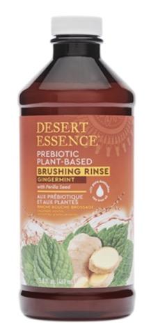 Image of Mouthwash - Brushing Rinse Prebiotic Plant-Based Gingermint