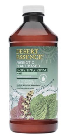 Image of Mouthwash Brushing Rinse Prebiotic Plant-Based Mint