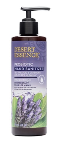 Image of Hand Sanitizer Probiotic Tea Tree Oil & Lavender