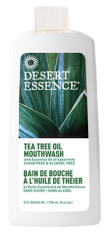 Image of Mouthwash Tea Tree Oil with Spearmint