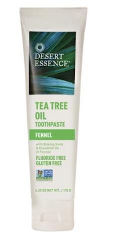 Image of Toothpaste Tea Tree Oil Fennel