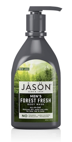 Image of Men's Body Wash Forest Fresh ALL-IN-ONE (Face, Hair & Body)