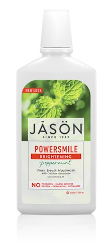 Image of Mouthwash PowerSmile Brightening Peppermint