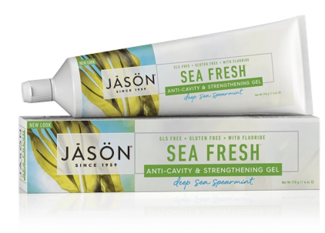 Image of Toothpaste Sea Fresh Anti-Cavity & Strengthening Gel Deep Sea Spearmint