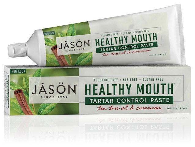 Image of Toothpaste Healthy Mouth Tartar Control Paste Tea Tree Oil & Cinnamon