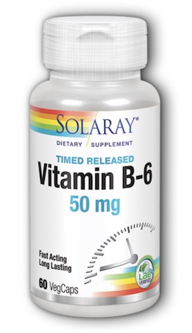 Image of Vitamin B6 50 mg Timed Release