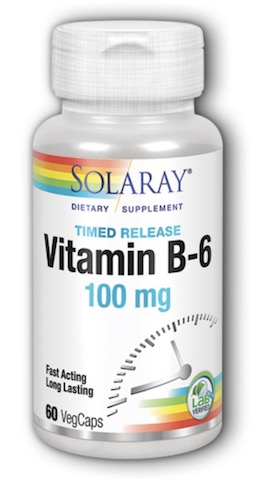 Image of Vitamin B6 100 mg Timed Release