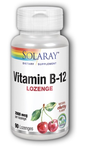 Image of Vitamin B12 Lozenge 2000 mcg Cherry