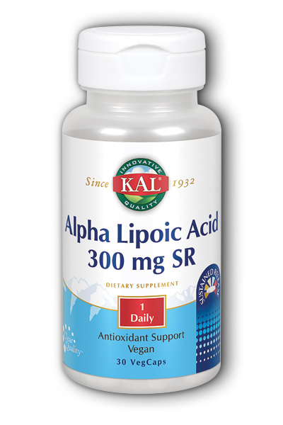 Image of Alpha Lipoic Acid 300 mg SR (Sustained Release)