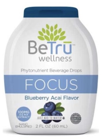 Image of Beverage Drops Focus Blueberry Acai