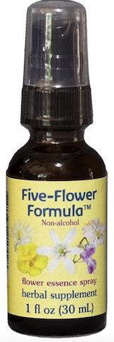 Image of Flower Essence Formula Five Flower Non-Alcohol Spray