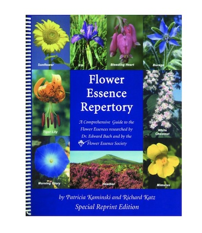 Image of Book The Flower Essence Repertory Spiral Bound