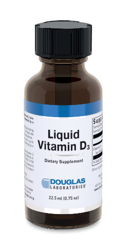 Image of Vitamin D3 Liquid 25 mcg (1000 IU) Sugar Free