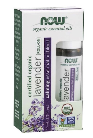 Image of Essential Oil Blend Roll-On Lavender Calming Organic