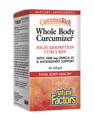 Image of CurcuminRich Whole Body Curcumizer with Omega-3