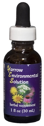 Image of Herbal Supplement Yarrow Environmental Solution (YES) Dropper