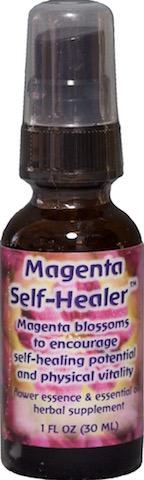 Image of Flower Essence & Essential Oil Magenta Self-Healer Spray