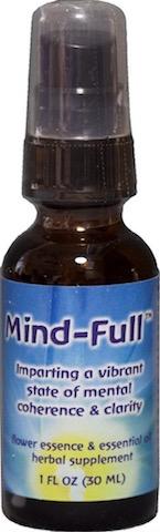 Image of Flower Essence & Essential Oil Mind-Full Spray