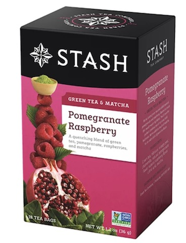 Image of Green Tea & Matcha Pomegranate Raspberry