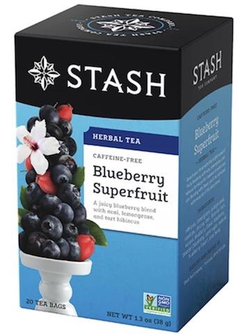 Image of Herbal Tea Blueberry Superfruit Caffeine Free