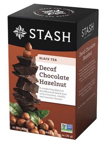 Image of Black Tea Decaf Chocolate Hazelnut