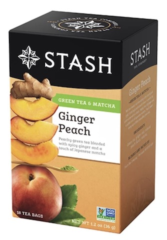 Image of Green Tea & Matcha Ginger Peach
