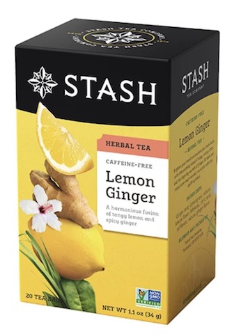 Image of Herbal Tea Lemon Ginger Caffeine Free