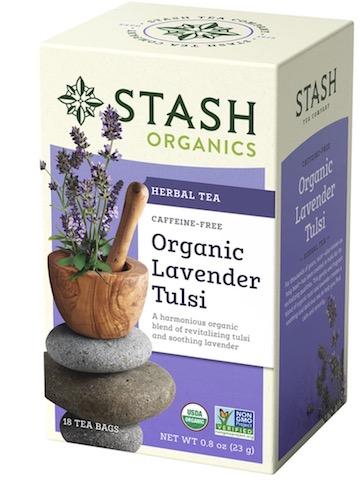 Image of Herbal Tea Organic Lavender Tulsi Caffeine Free