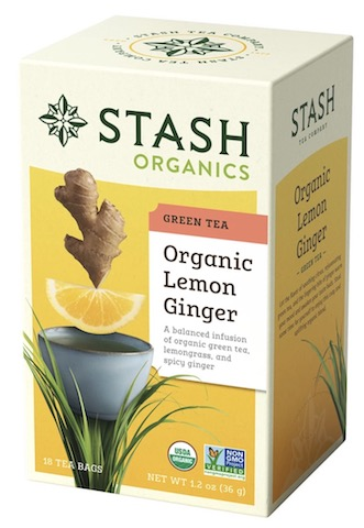 Image of Green Tea Organic Lemon Ginger