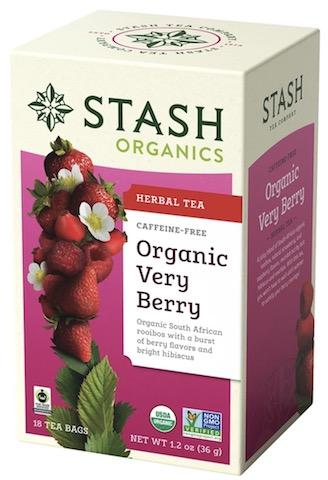 Image of Herbal Tea Organic Very Berry Caffeine Free