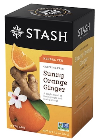 Image of Herbal Tea Sunny Orange Ginger Caffeine Free