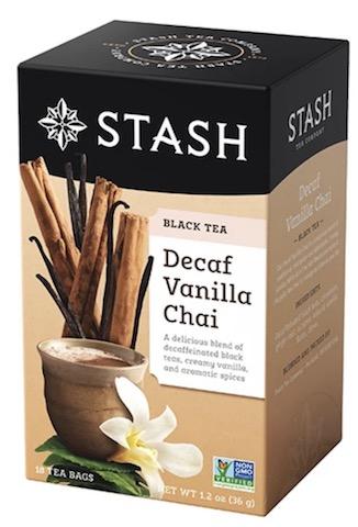 Image of Black Tea Decaf Vanilla Chai