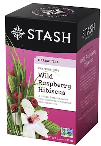 Image of Herbal Tea Wild Raspberry Hibiscus Caffeine Free
