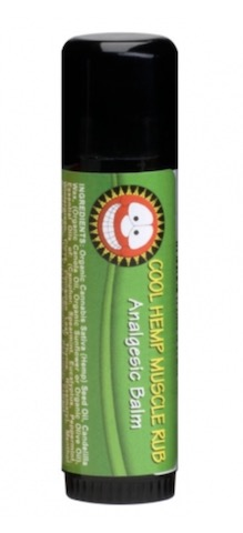 Image of Vegan Cool Hemp Muscle Rub Tube