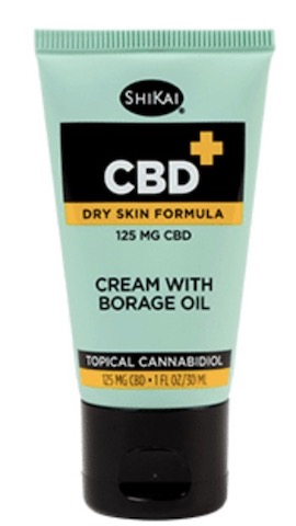 Image of CBD Cream with Borage (Dry Skin Formula)