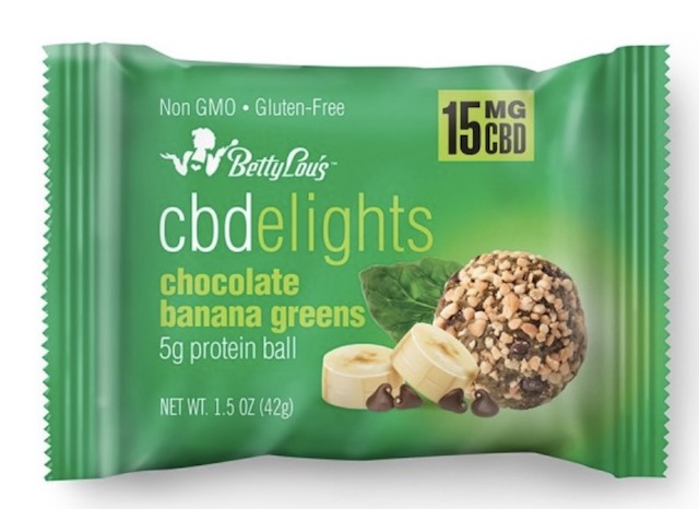 Image of CBDelights Chocolate Banana Greens Protein Balls